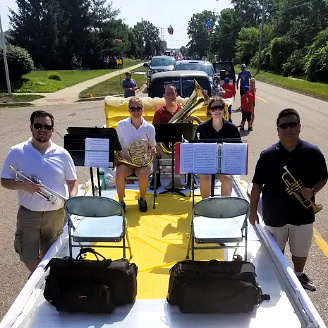 Beer City Brass: Making your event memorable and enjoyable.
